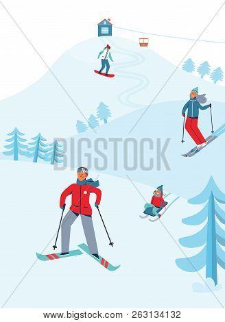 Winter Holidays Recreation Sport Activity