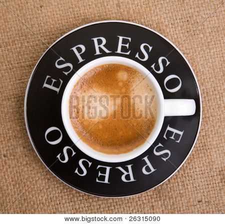 Taza de espresso