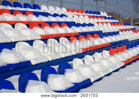 Snow-Covered Tribunes