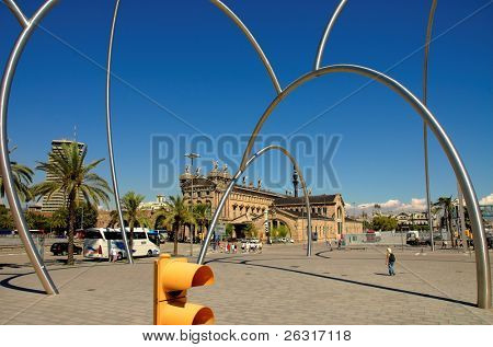 Arc rings in Barcelona, Spain
