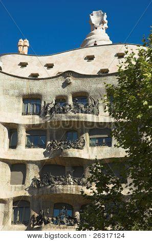 La Pedrera, Antoni Gaudi, Barcelona, Spain