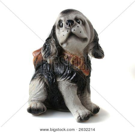 Dog, Ceramics Spaniel