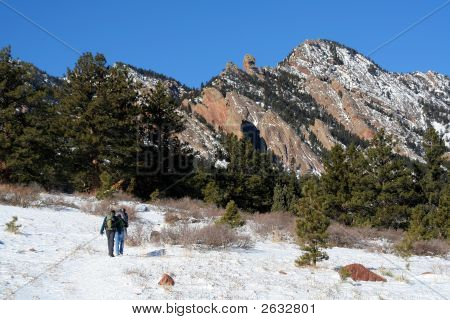 Hiking Near Boulder Flatirons
