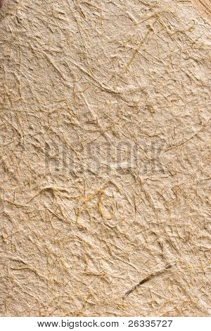 Handmade rice paper from Thailand texture