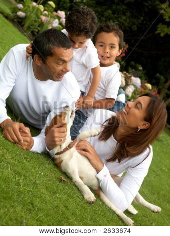 Family Lifestyle Portrait