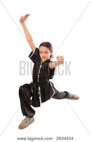 Wushu Girl Thrust