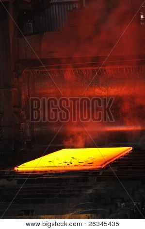 hot steel sheet