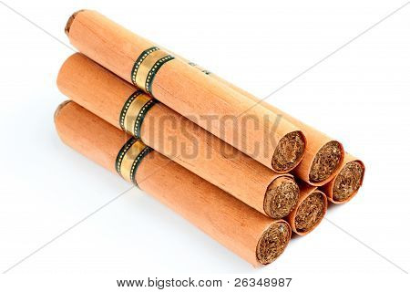 Six Cigars In Covers