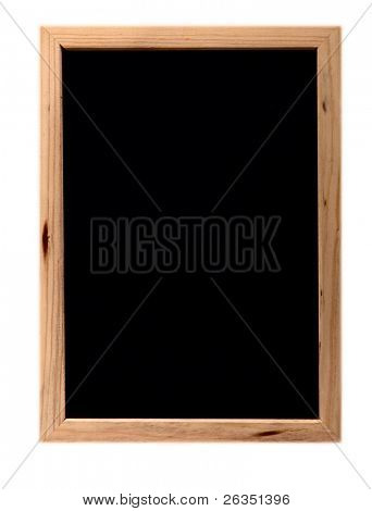 Black board for a writing of messages