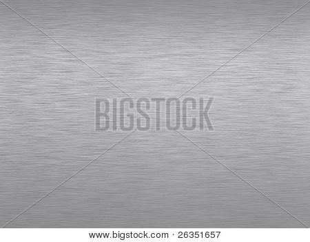 Polished metal  plate. An abstract background