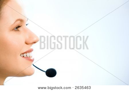 Close-Up Of Consultant