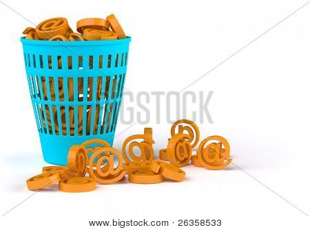 Spam basket
