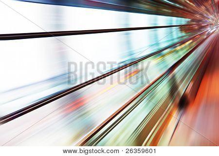 Motion blur concept
