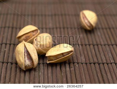 pistachio closeup