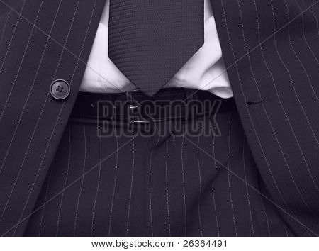 details of business suit