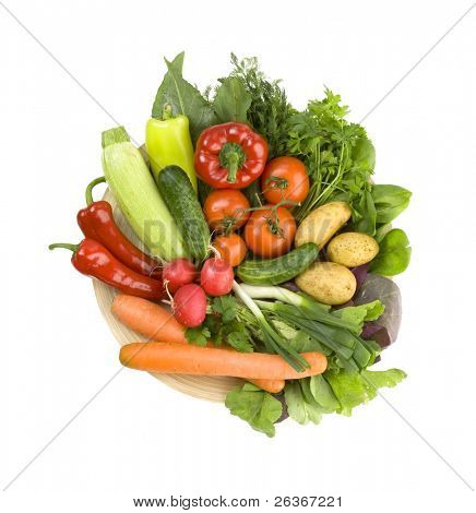 fresh vegetables, healthy diet