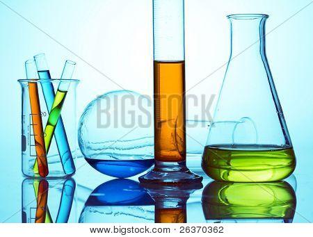 chemisches Labor Glaswaren Ausrüstung