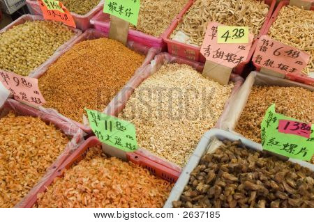 China Market Produce