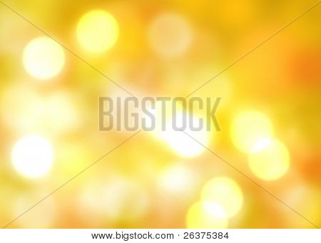 autumn glowing light background