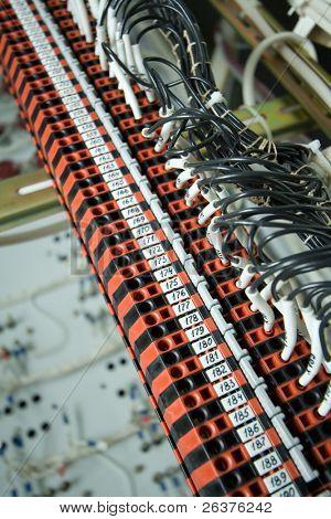 Industrielle Anschlussblöcke (oder Klemmen)