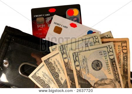 Credit Cards, Money And Wallet