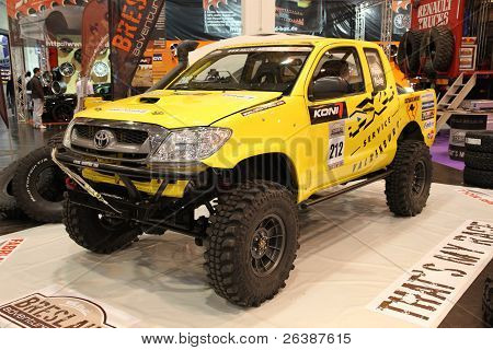 Essen, Germany - Nov 29:toyota Pickup 4Wd Offroad Shown At The Essen Motor Show In Essen, Germany, O