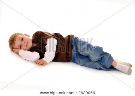 Preschooler At Rest