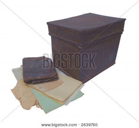 Old Archived Documents From A Ferrous Box