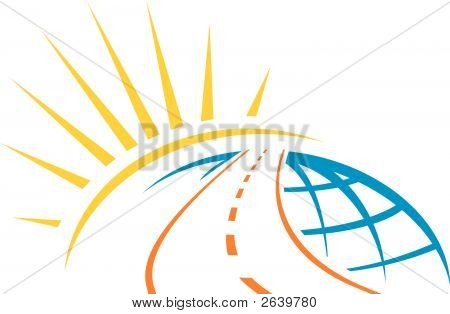 Road Across World