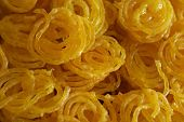 pic of ghee  - Indian sweet jalebi - JPG