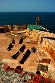 San Felipe Del Morro Fortress, San Juan, Pr, Usa