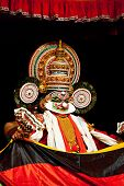 CHENNAI, INDIA - SEPTEMBER 7: Indian traditional dance drama Kathakali performance on September 7, 2