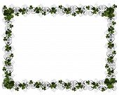 St Patty'S Day Shamrock Border