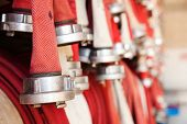 foto of firehose  - fire - JPG