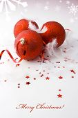 stock photo of reveillon  - Christmas background - JPG