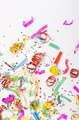 stock photo of reveillon  - colorful spirals - JPG