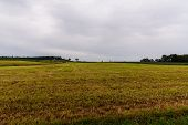 A Wide-angle Shot Of What Was Once A Historic American Civil War Battlefield In Gettysburg, Pa. poster