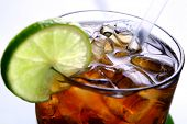 picture of iced-tea  - fresh and tasty summer ice tea - JPG