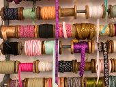 Variety Of Decorative Colorful Ribbons