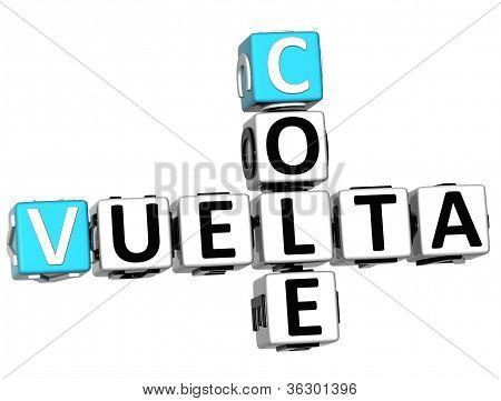 3D Back School In Spanish Language Crossword