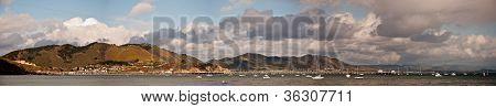 San Luis Obispo Bay Panorama