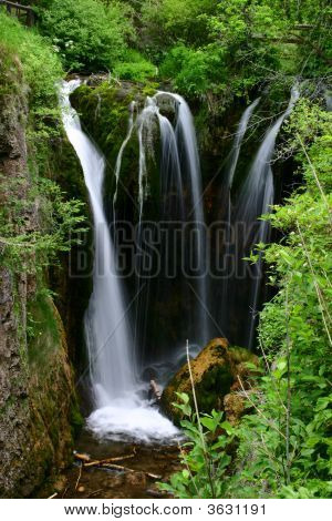 Roughlock Falls In Spearfish Canyon, South Dakota