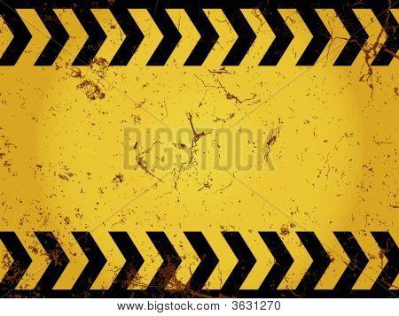 Grunge Construction Sign