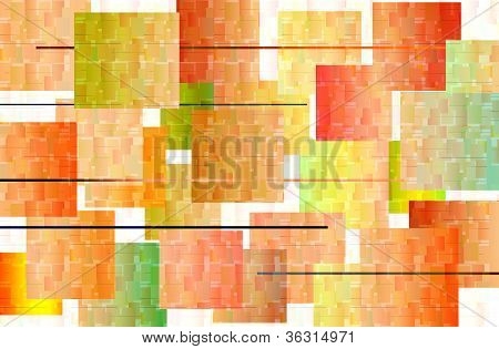 Mosaic Abstract vector & pattern color background