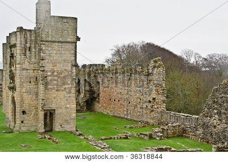 Medieval Ruins--Warkworth Castle