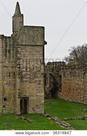 Warkworth Castle Ruins