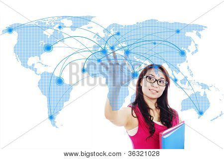 College Student Global Networking