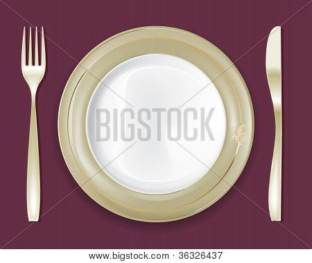 Dinner Plate Set 5
