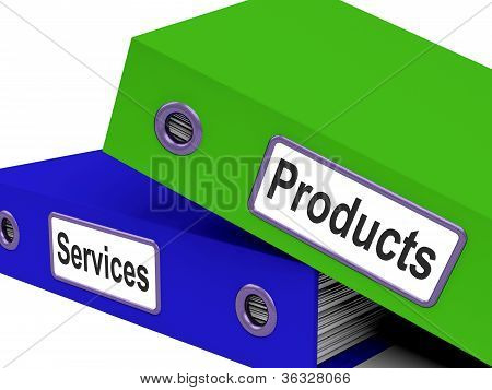 Products And Services Files Show Selling And Retail