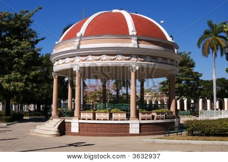 Rotunda  In Cienfuegos City Centre, Cuba